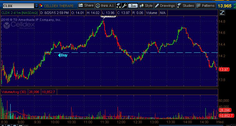 stock pick cldx
